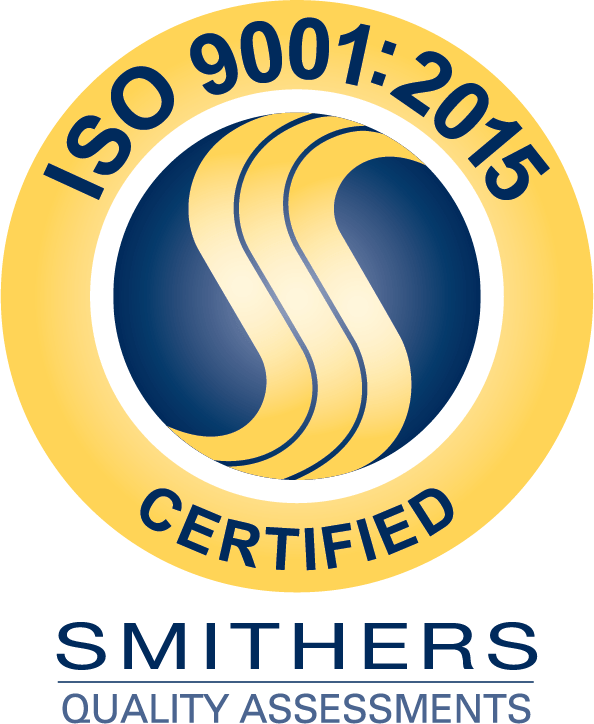 ISO 9001:2015 badge